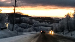 Mattmar, on the way to Östersund