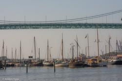 Älvsborgsbron, Klippans småbåtshamn