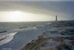 Skagen lighthouse, north Jyllandk