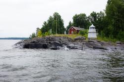 Harnäsudde, west from Sjötorp