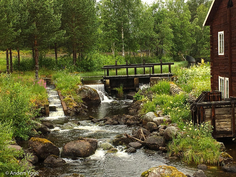 Kårböle, north from Ljusdal
