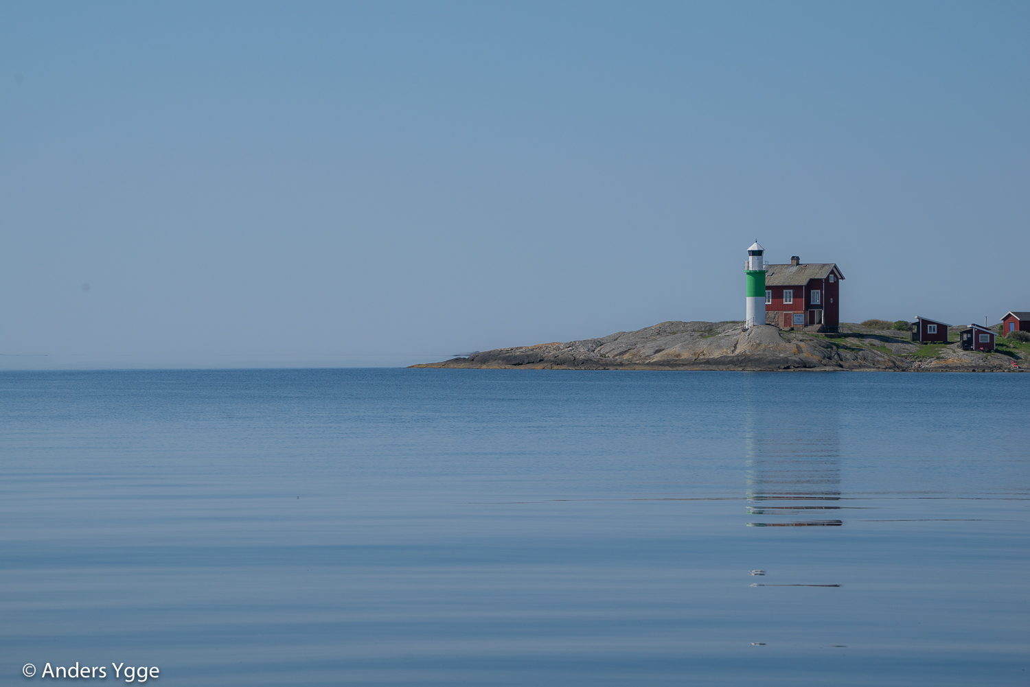 Valö lighthouse, south of Gbgs habor