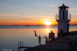 North lighthouse Mollösund