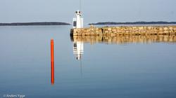 Sjötorps harbour inlet