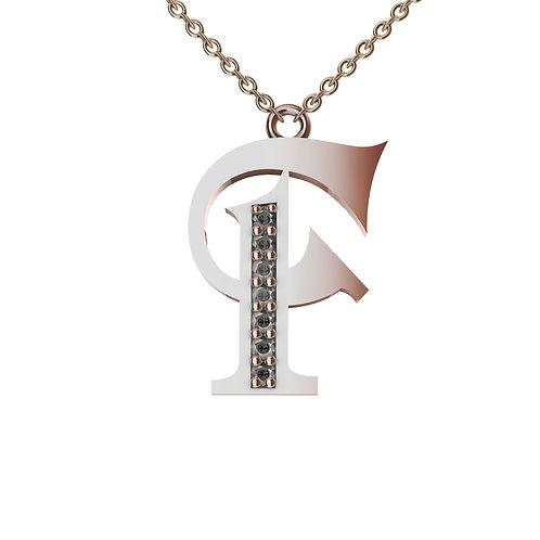 F - Alphabet Pendant