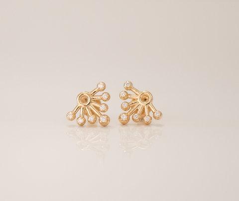 Diamonds Sunshine Earrings