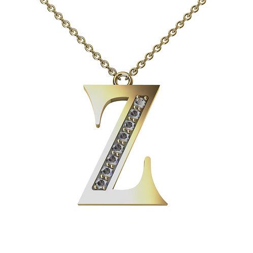 Z - Alphabet Pendant
