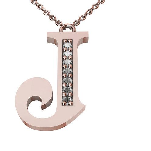 J - Alphabet Pendant
