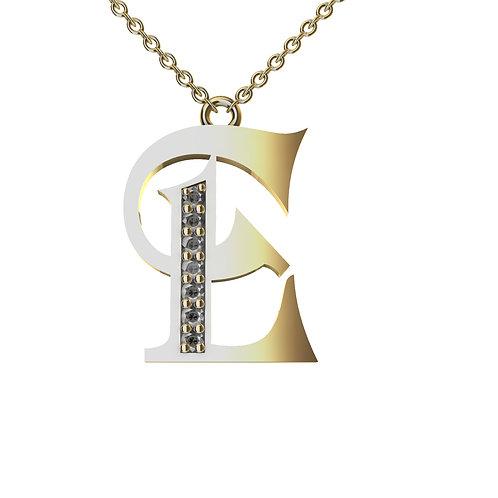 E - Alphabet Pendant