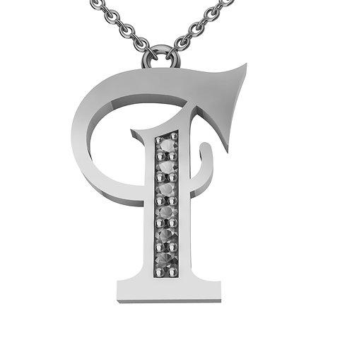 T - Alphabet Pendant