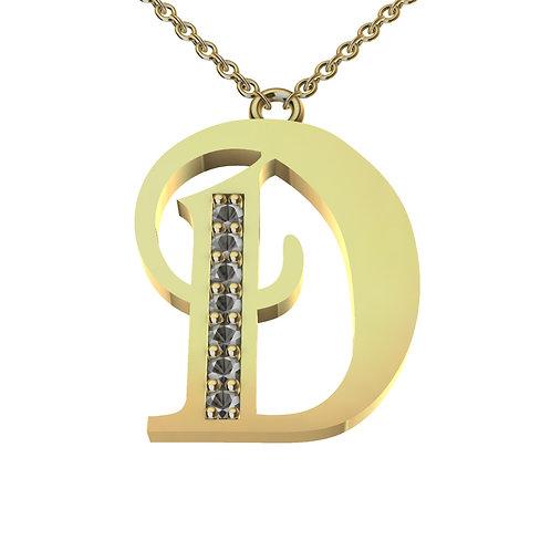 D - Alphabet Pendant