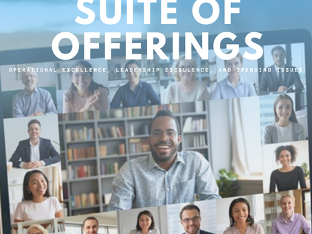 Suite of Offerings - 2021 Full Calendar