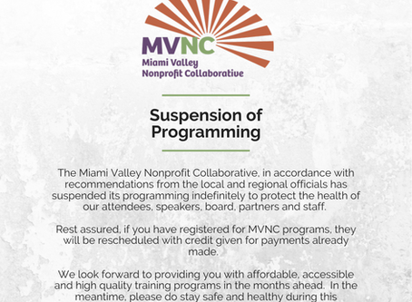 Suspension of Programming