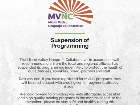 Suspension of Programming