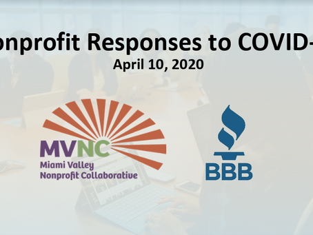 Nonprofit Responses to COVID-19