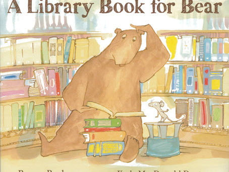 Library Book for Bear
