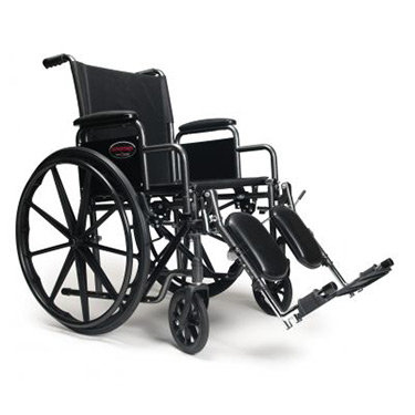 "Everest & Jennings Advantage 20"" Wheelchair"