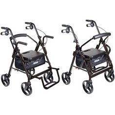 Drive Duet Wheelchair and Rollator Combination