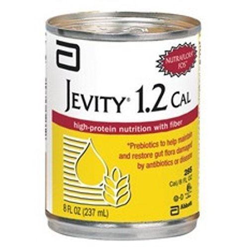 Jevity 1.2 Cal Nutritional Unflavored 8OZ Cs/24