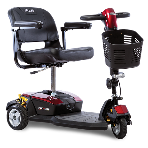 3-Wheel Gogo LX w/ CTS Suspension by Pride (FDA Class II Medical Device*)