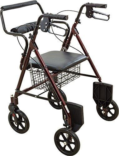 Rollator / Transport Chair Combo