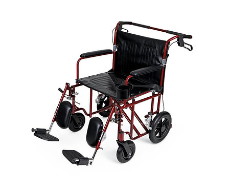 Lightweight Bariatric Heavy Duty Transport Chair