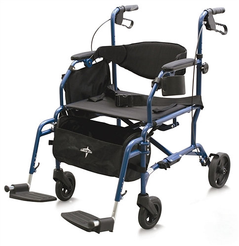 Transport chair and Rollator Combination - Translator