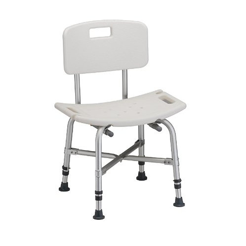 Extra Heavy Duty Shower Chair, 500 lbs capacity