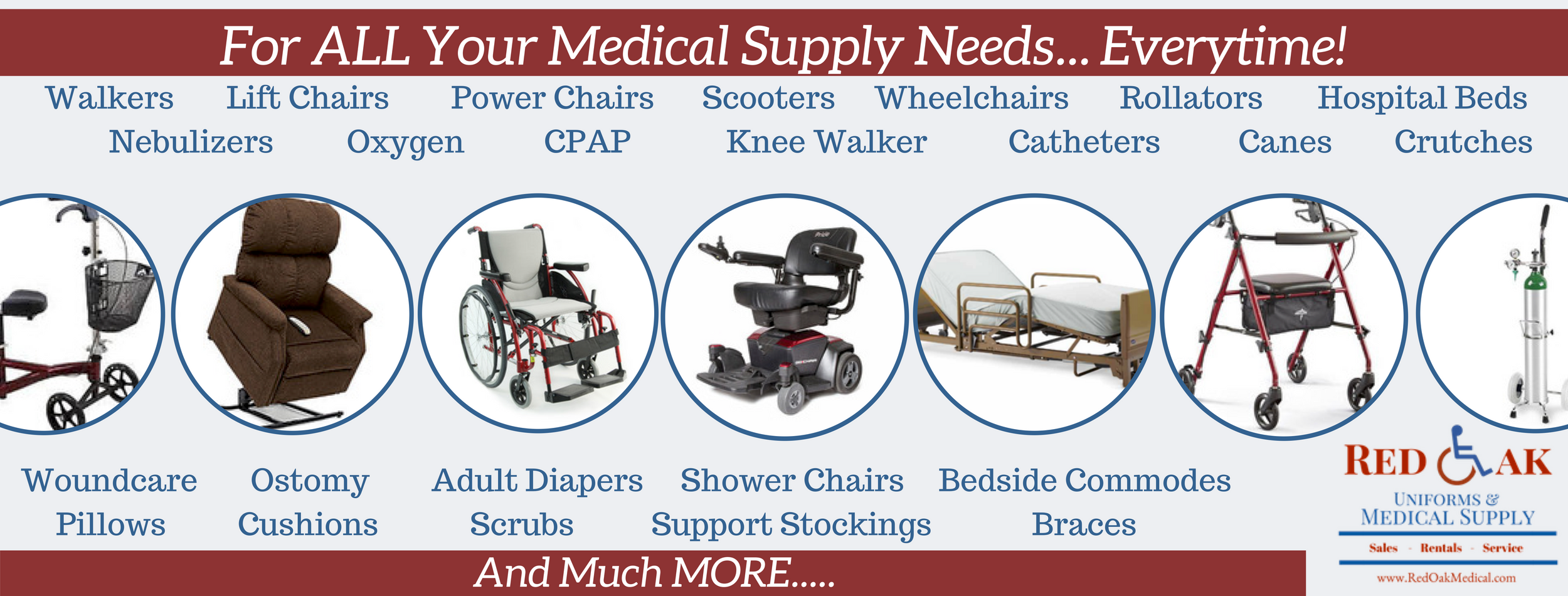 Medical Supply Houston Showroom | Buy-Repair-Rent Medical