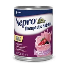 Nepro with Carb Steady Mixed Berry Cans 8oz Cs/24