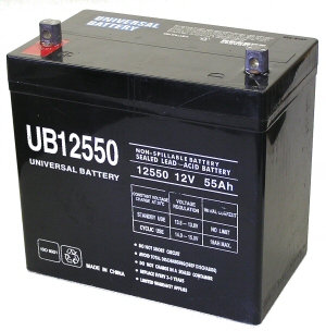 12V 50AH Sealed Lead Acid, Ea