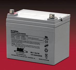 12v-35A Batteries, Each