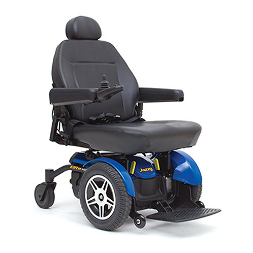 Jazzy Elite HD Power Chair, 450 lbs Capacity