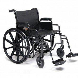 """Everest & Jennings Traveller Heavy Duty 22"""" & 24"""" Wheelchair"""