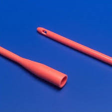 Red Rubber Catheters, Ea