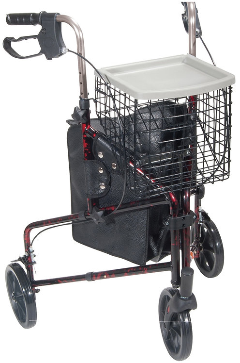 3 Wheel Folding Rollator