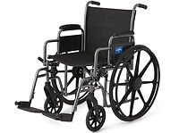 Rent Heavy Duty Bariatric Extra Wide 22 inch Wheelchair in Houston 77090. We Deliver!