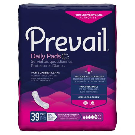 Prevail Daily Pads for Bladder Control (PV915)