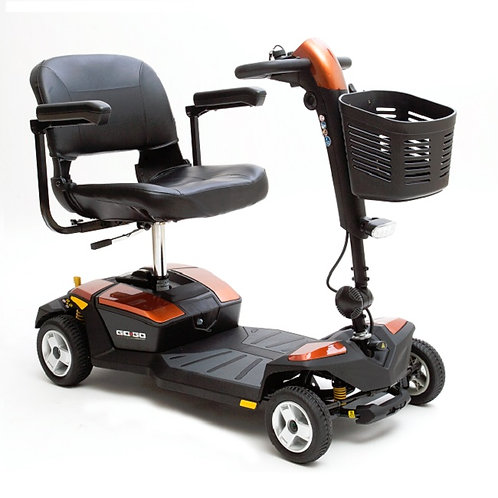 4-Wheel Gogo LX w/ CTS Suspension by Pride (FDA Class II Medical Device*)