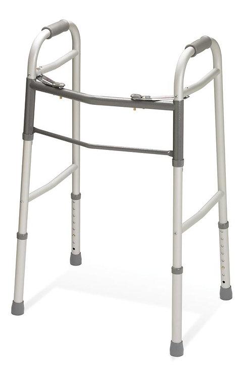 Junior Walker With No Wheels, Folding, Adjustable
