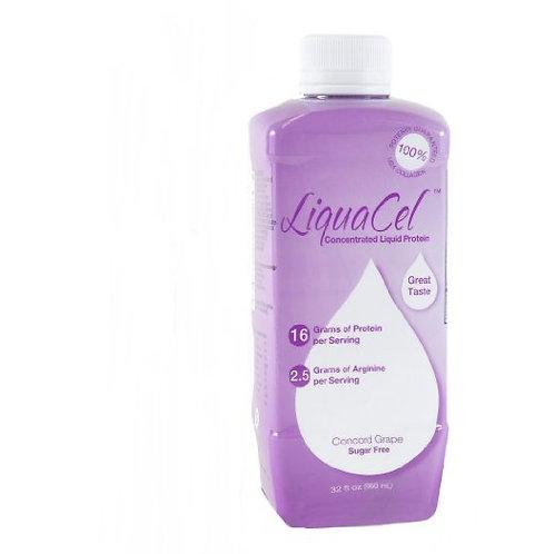 Liquacel Liquid Protein Sugar Free Grape, 32 oz