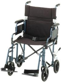 Nova 349 (blue) Transport Chair