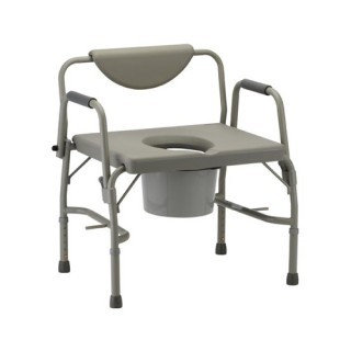 Bariatric Drop Arm Commode by Nova