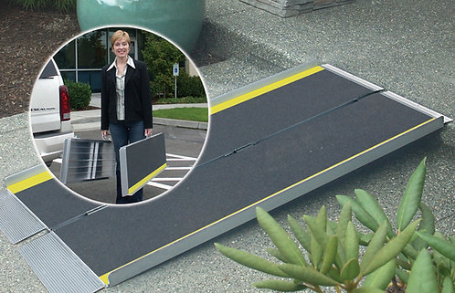 6 Ft Folding Suitcase Threshold Entry Ramps