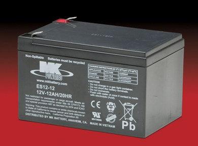 12v-12A Batteries, Each