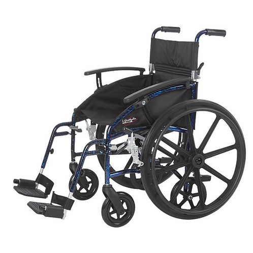 Transporter - 2 in 1 Aluminum Wheelchair/Transport Chair