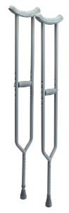 Heavy Duty Crutches, 500 lbs capac