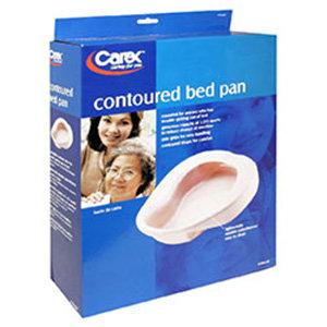 Carex Contoured Bed Pan