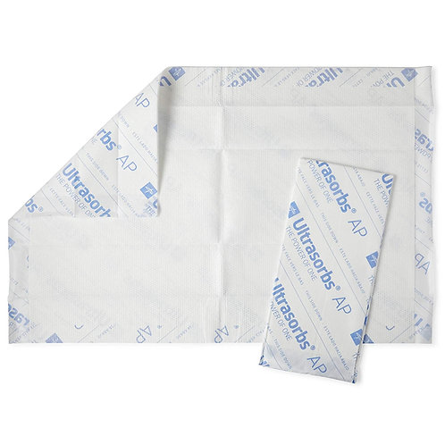 Medline Ultrasorbs AP Premium Disposable Drypads (ULTRASORB2436)