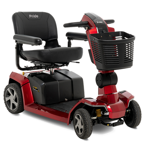 ZT10 4-Wheel Full Size Scooter by Pride (FDA Class II Medical Device*)